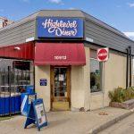highlevel diner entrance