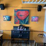 highlevel diner interior