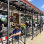 highlevel diner patio