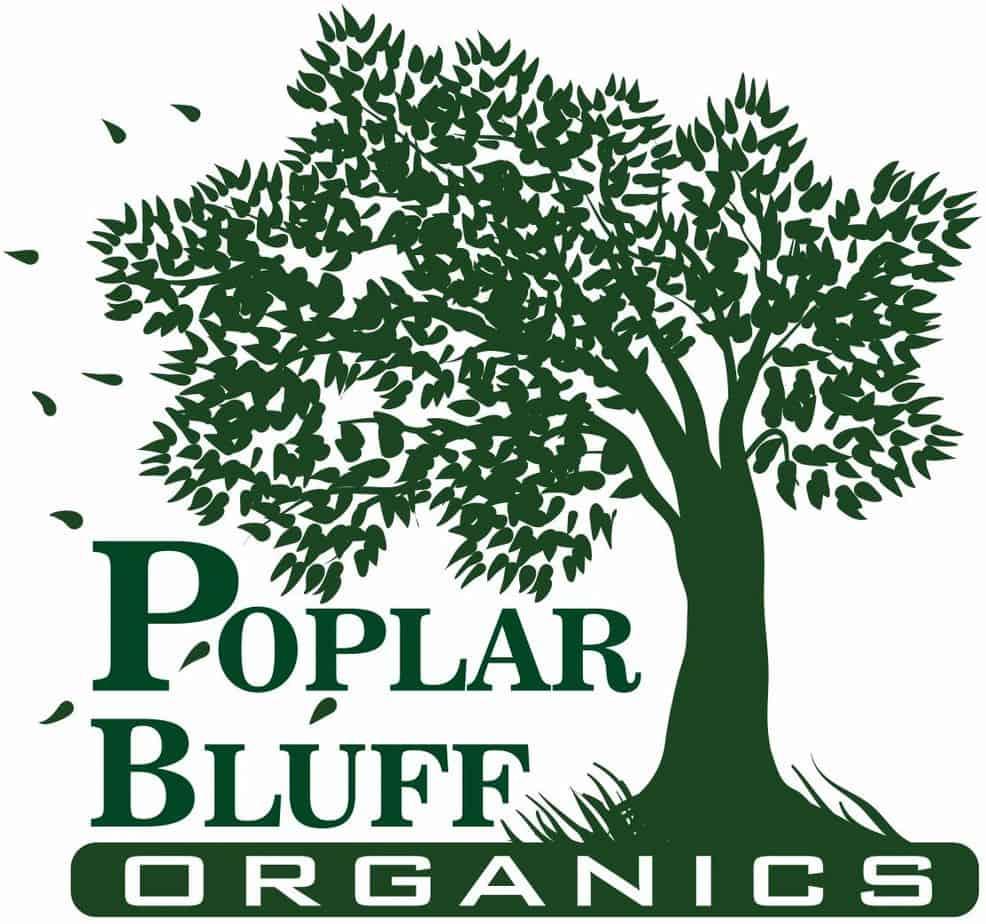 poplar bluff organics logo