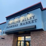 Gasoline Alley Farmers' Market entrance