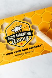 Good Morning Honey's Beeswax Candle Making Kit