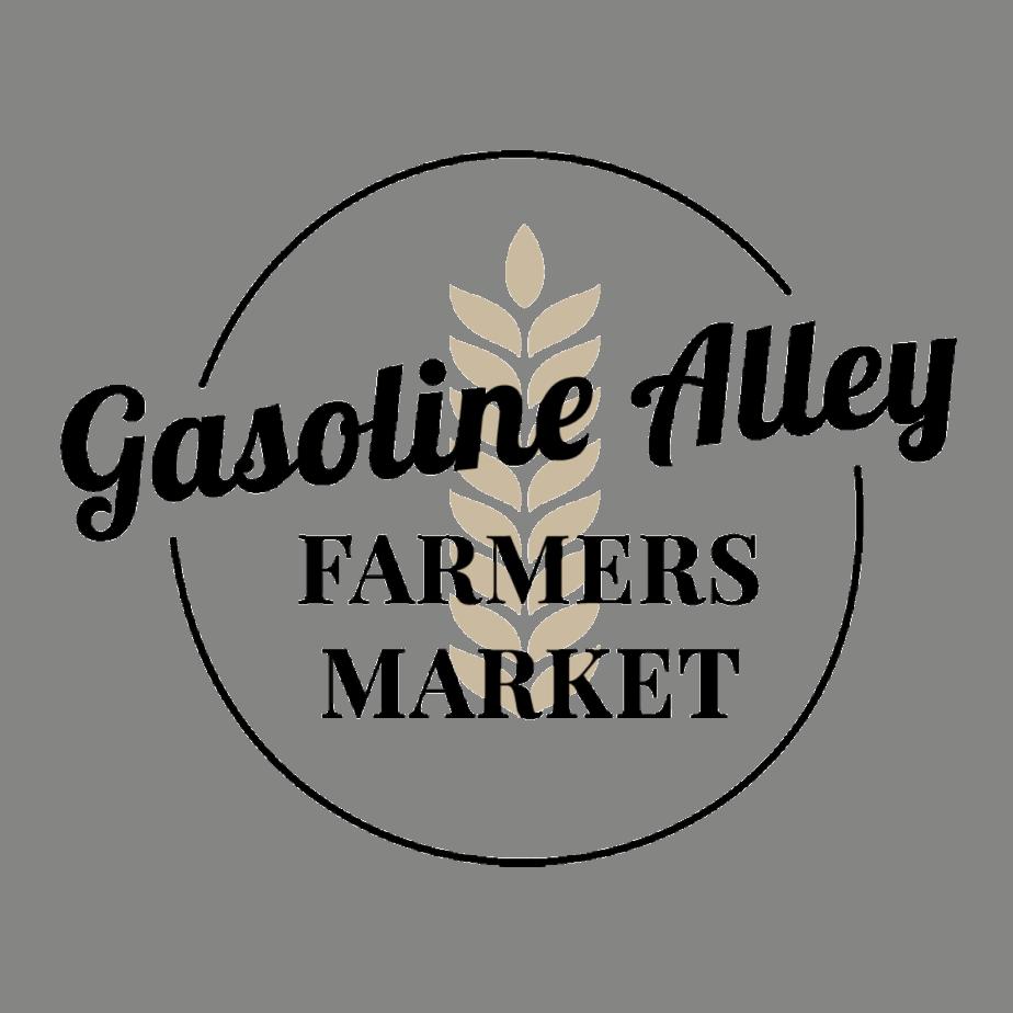 gasoline alley farmers market logo