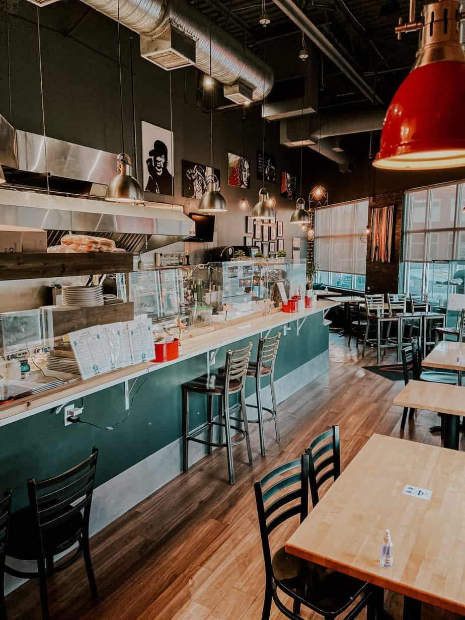 Abe's modern diner