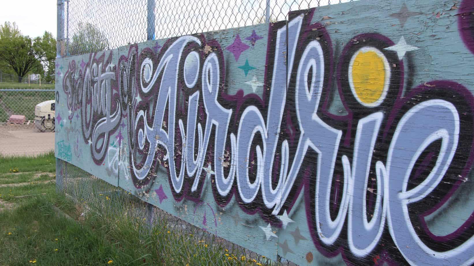 airdrie street art