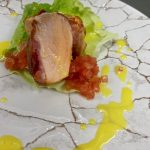 stirling grill pancetta trout