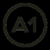 A1 bodega cafe logo