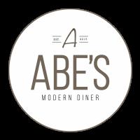 Abe's modern diner logo