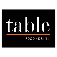 table food and drink logo